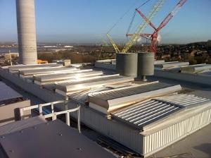 Labyrinth natural roof ventilators