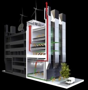 Natural ventilation at BSkyB