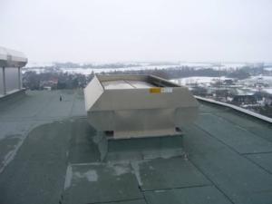 Natural ventilator at Gluckstadt power station