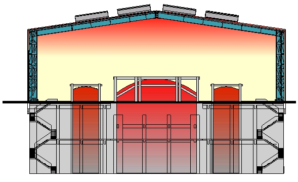 Industrial Building Ventiltors : Cooling glass factories ventilation is a tricky business