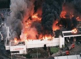Sainsburys Fire
